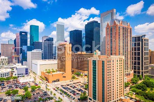 542727462 istock photo Houston, Texas, USA Skyline 1004244980
