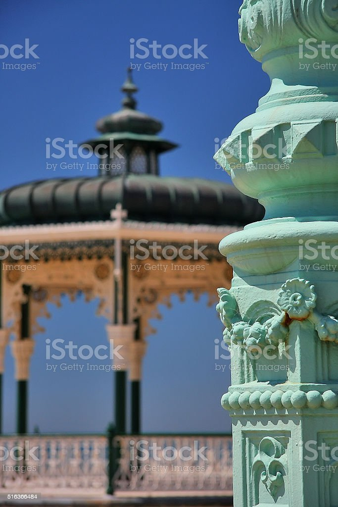 Hove Bandstand in Brighton, UK stock photo