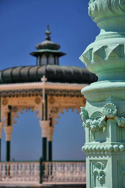 Hove Bandstand in Brighton, UK stock photo
