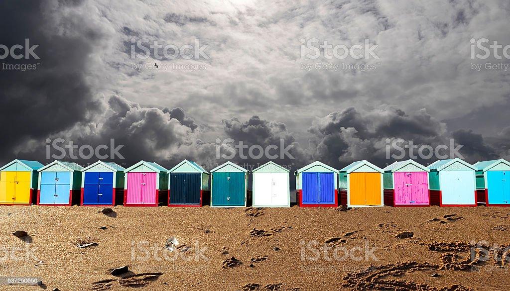Hove Beach stock photo