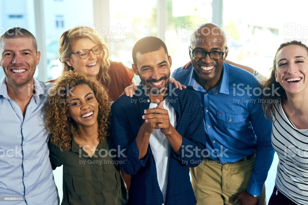 how a successful friendship looks like stock photo