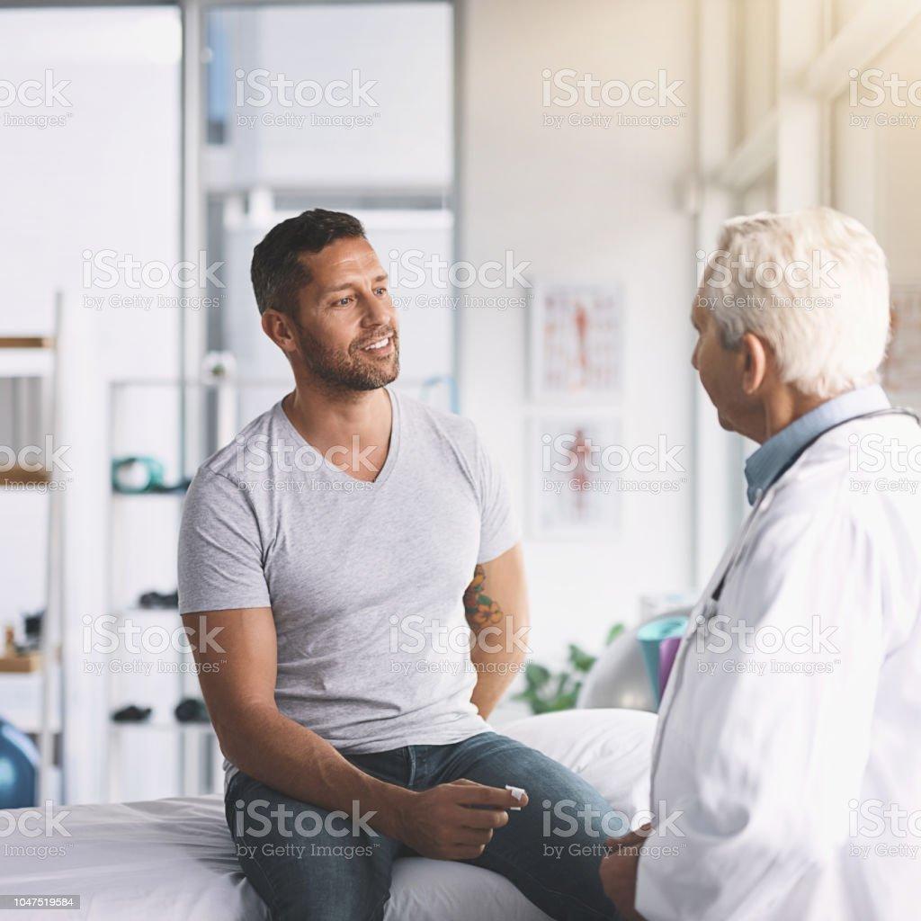 Wie ein I tun, Doc? – Foto