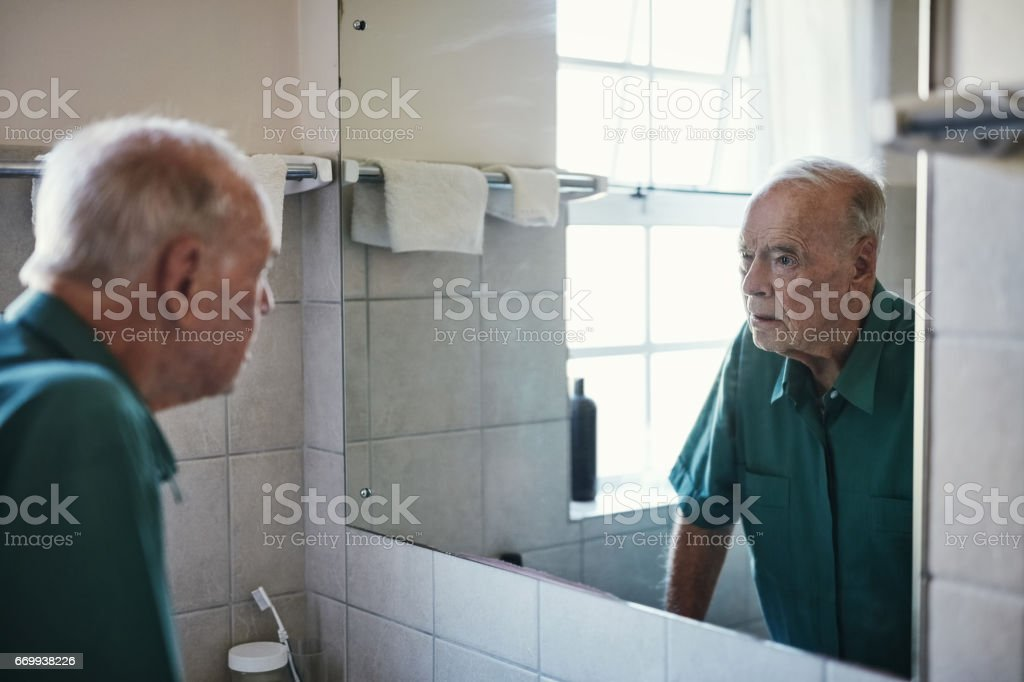 How did I get so old? stock photo