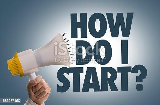 istock How Do I Start? 667577150