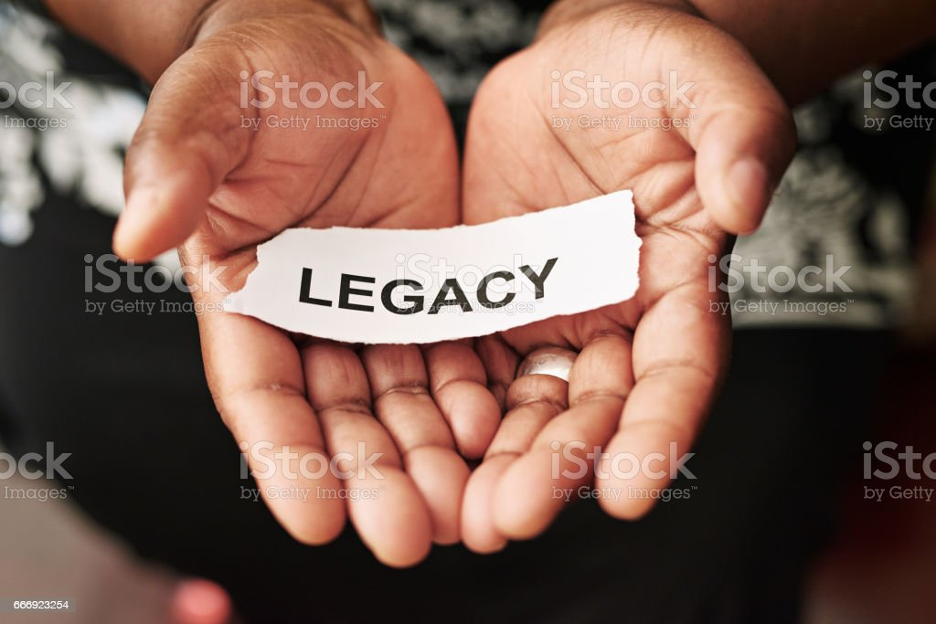 How do you want to be remembered? stock photo