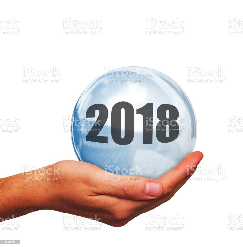 Wie ist das neue Jahr 2018 – Foto
