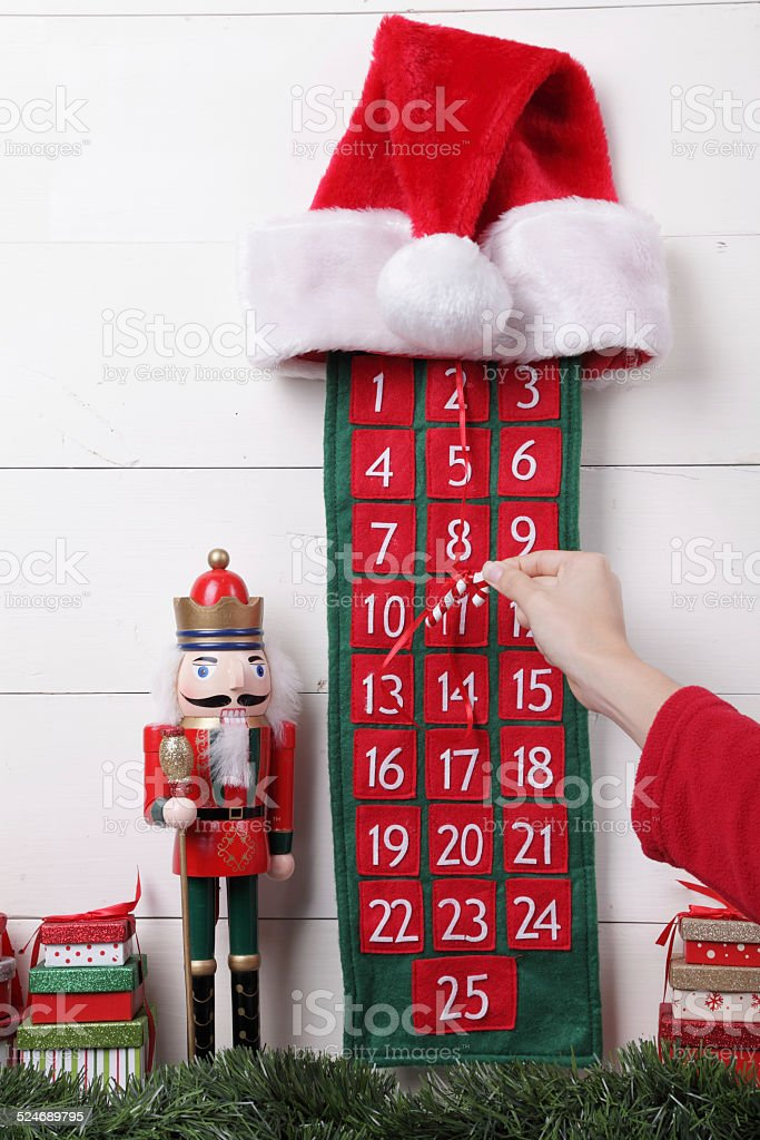 How Many Days To Christmas.How Many Days Until Christmas Stock Photo Download Image