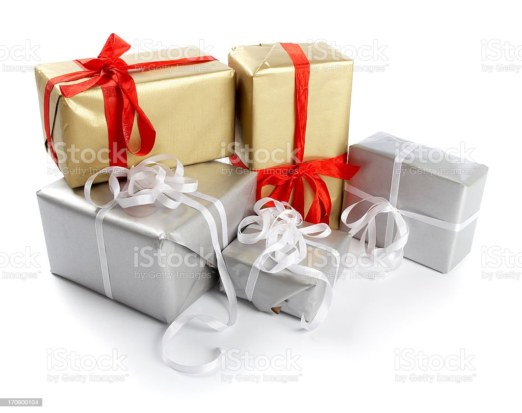 How many present will you get? royalty-free stock photo
