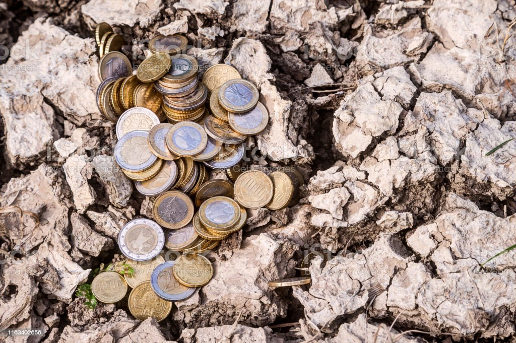 How much does climate change cost? - Royalty-free Accidents and Disasters Stock Photo