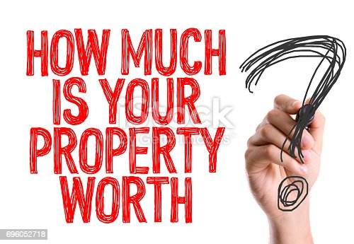 915688450 istock photo How Much is Your Property Worth? 696052718