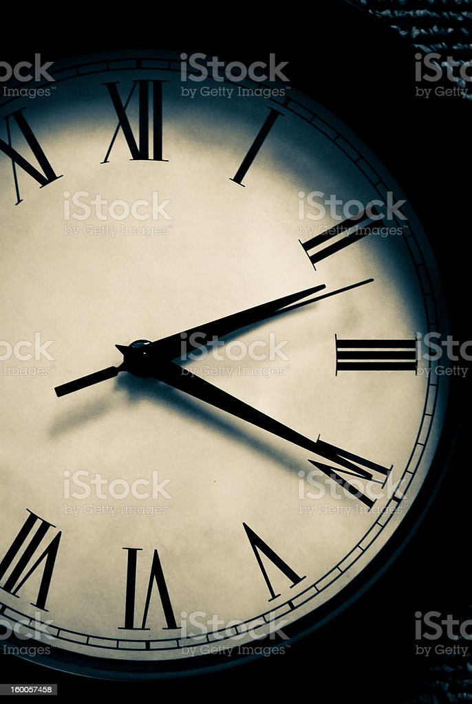 How Time Flies royalty-free stock photo