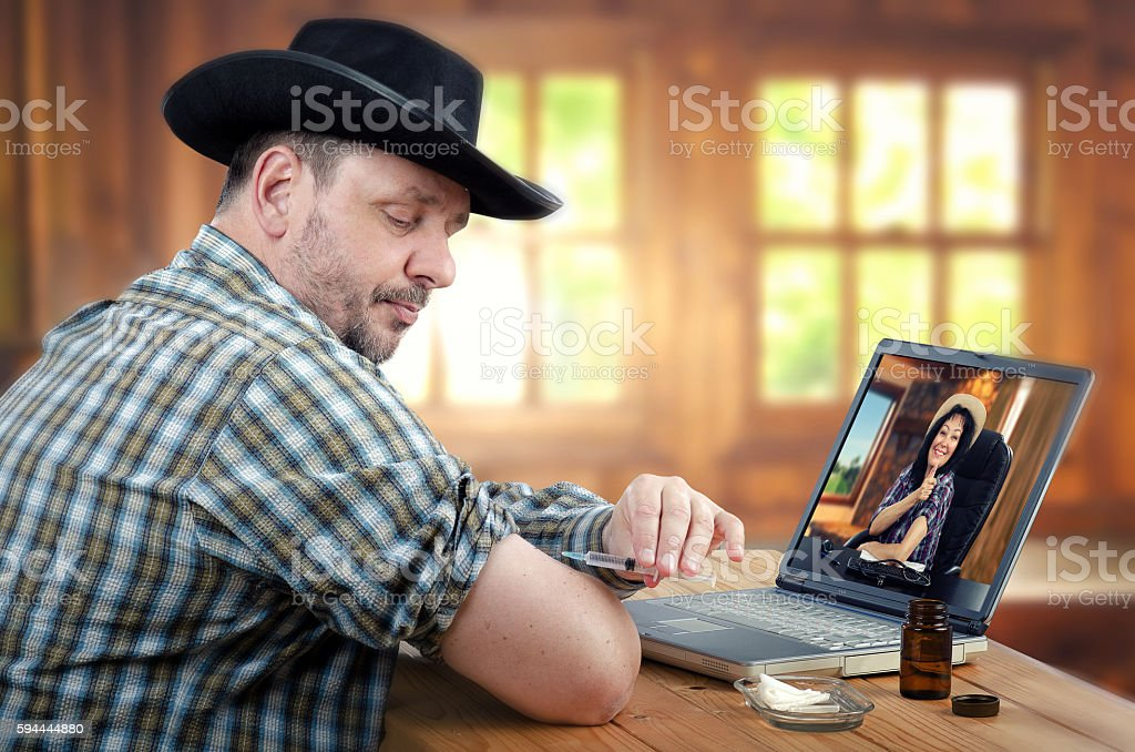 How to administer medication properly stock photo