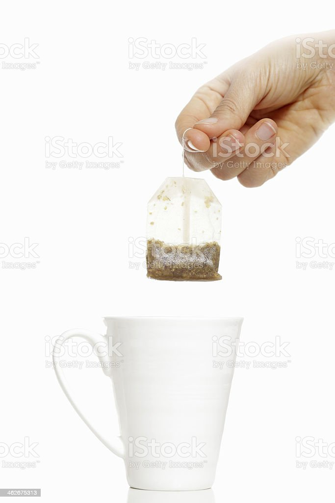 how to create best cup of tea ever royalty-free stock photo