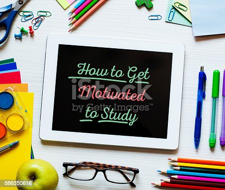 639376084 istock photo How to Get Motivated to Study 586350616