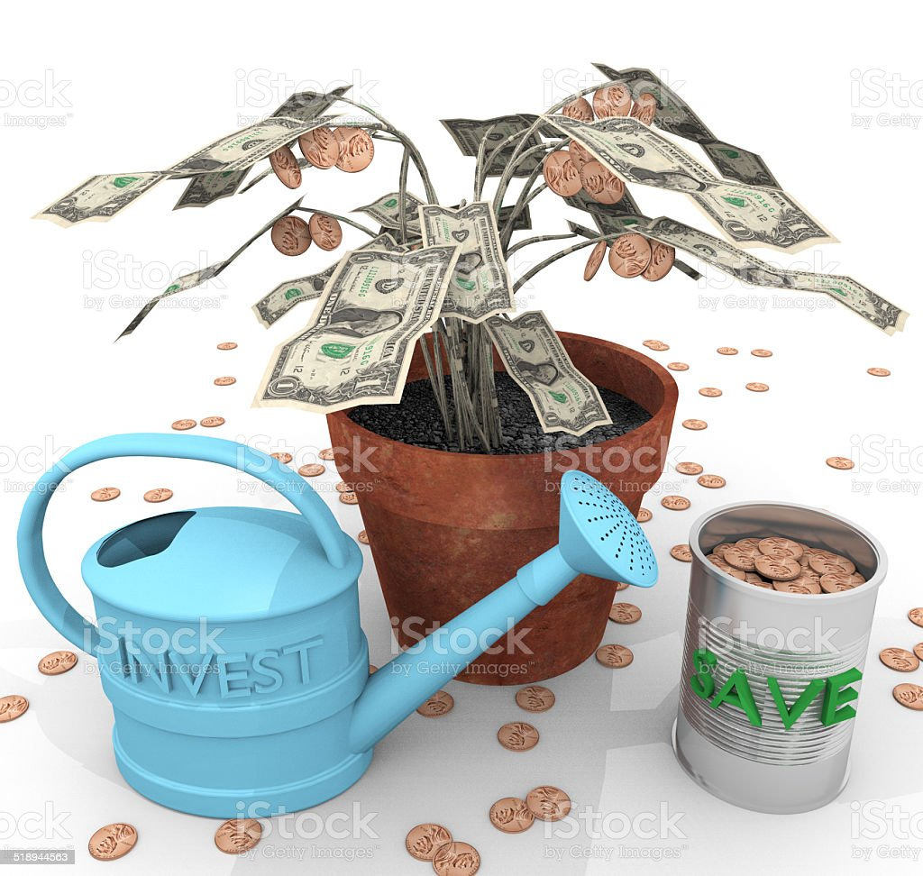How To Grow Wealth stock photo