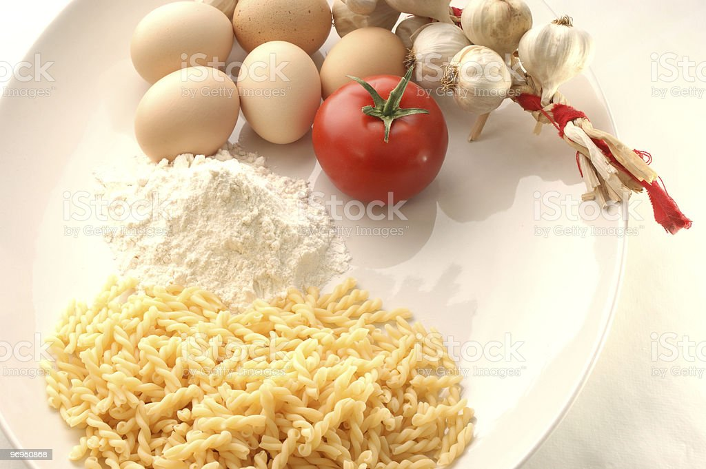 how to make home made noodles royalty-free stock photo