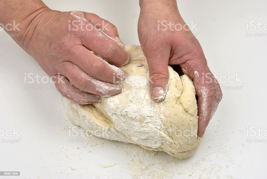 how to make organic bread at home royalty-free stock photo