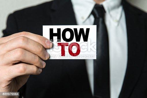 istock How To 835976564