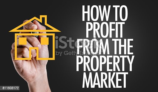 How To Profit From the Property Market sign