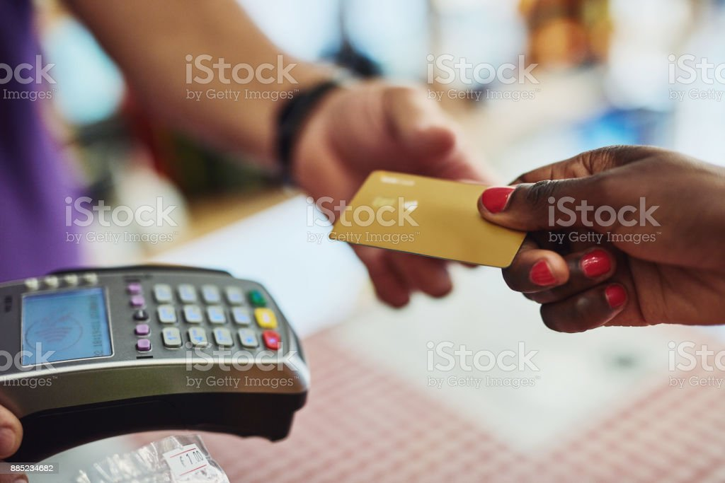 How will you be paying? stock photo