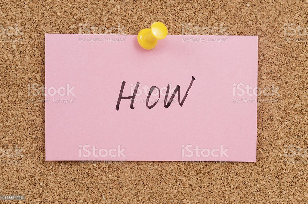 How word royalty-free stock photo