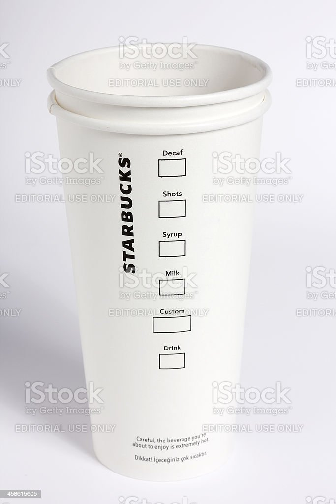 How would you like your coffee? royalty-free stock photo