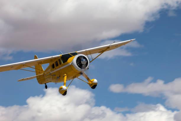 1943 Howard Airplane stock photo
