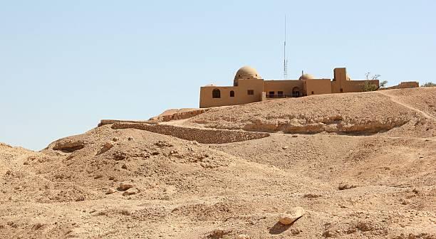 Howard Carter's House near Luxor, Egypt. stock photo