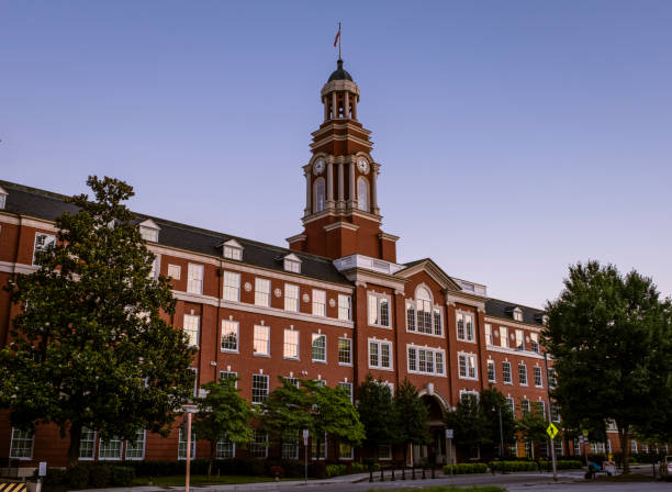 Howard H. Baker, Jr. United States Courthouse in Knoxville stock photo