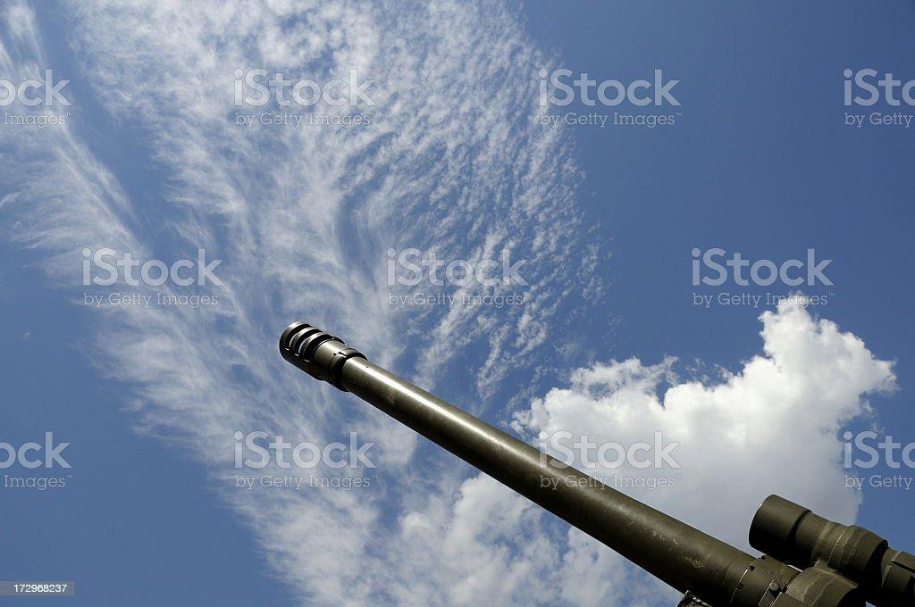 Howitzer Gun stock photo