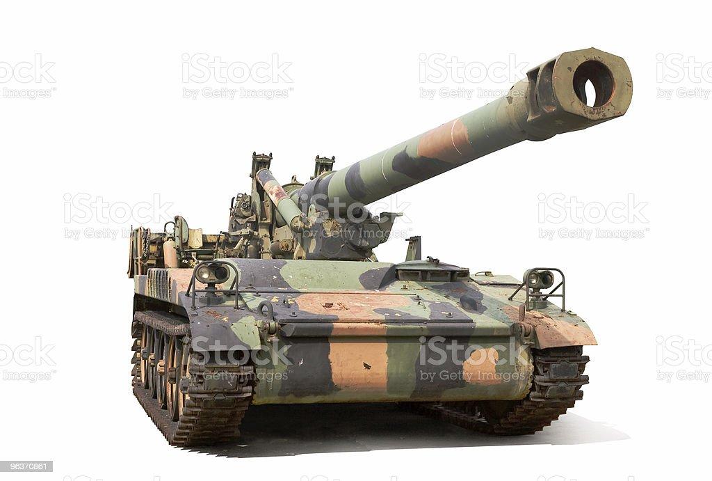 Howitzer royalty-free stock photo
