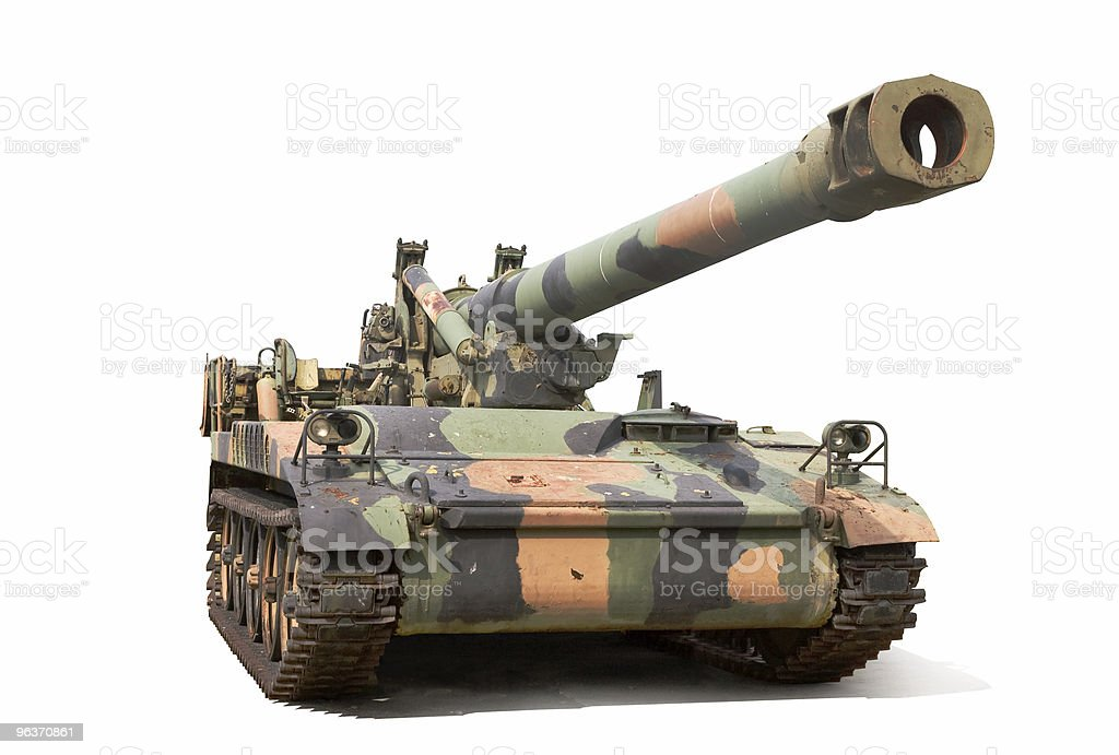 Howitzer stock photo