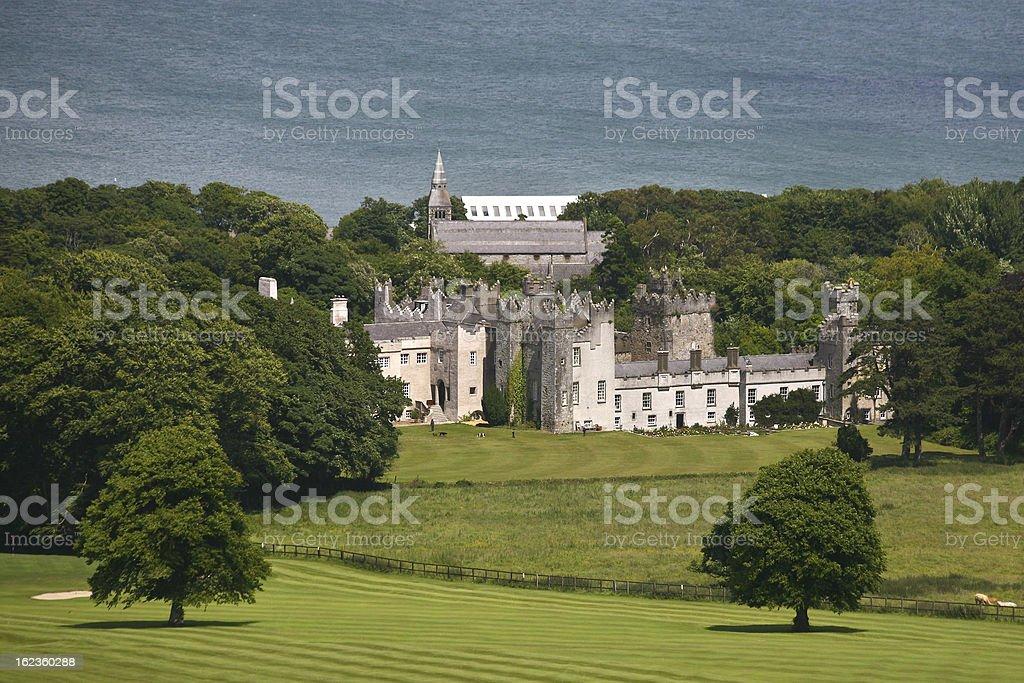 Howth Castle, Dublin, Ireland royalty-free stock photo
