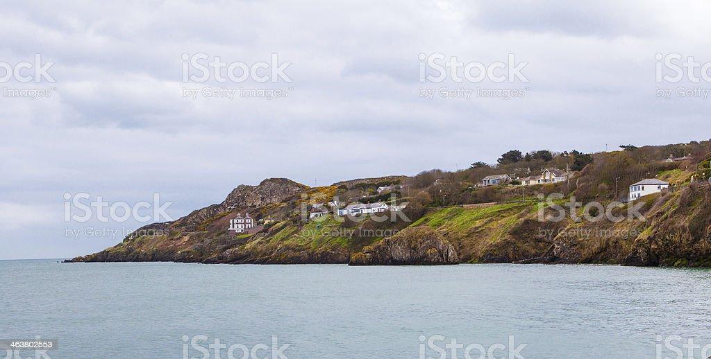 Howth Coast,Dublin Bay, Ireland stock photo