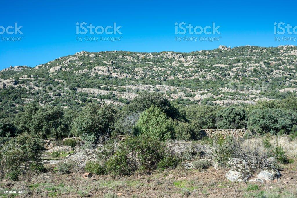 Hoyo de Manzanares Range, Madrid, Spain stock photo