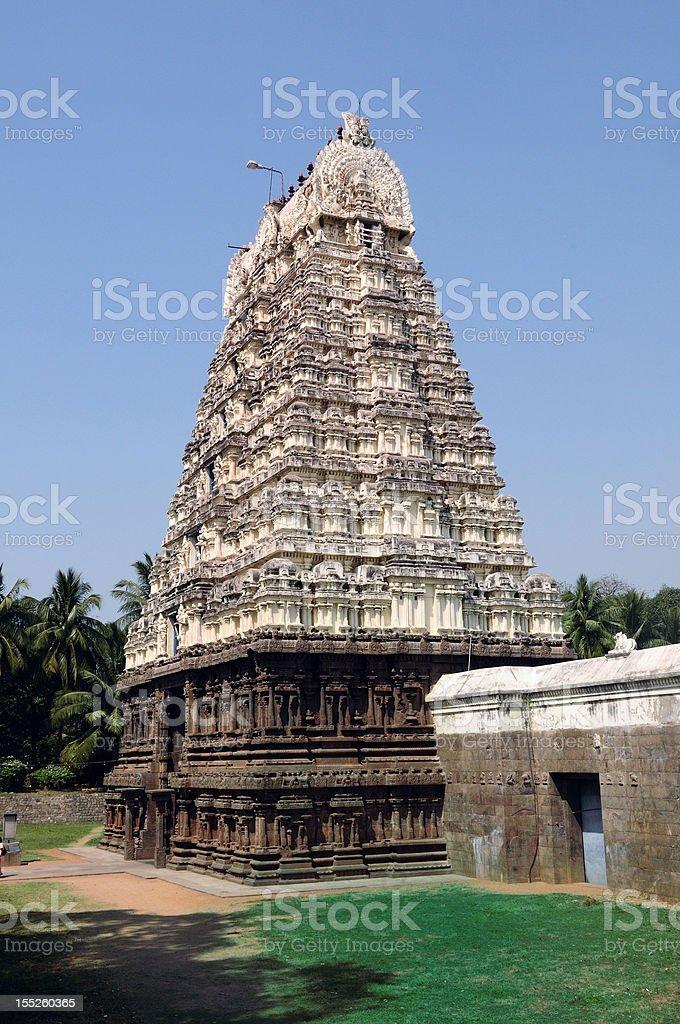 Hoysala Architecture royalty-free stock photo