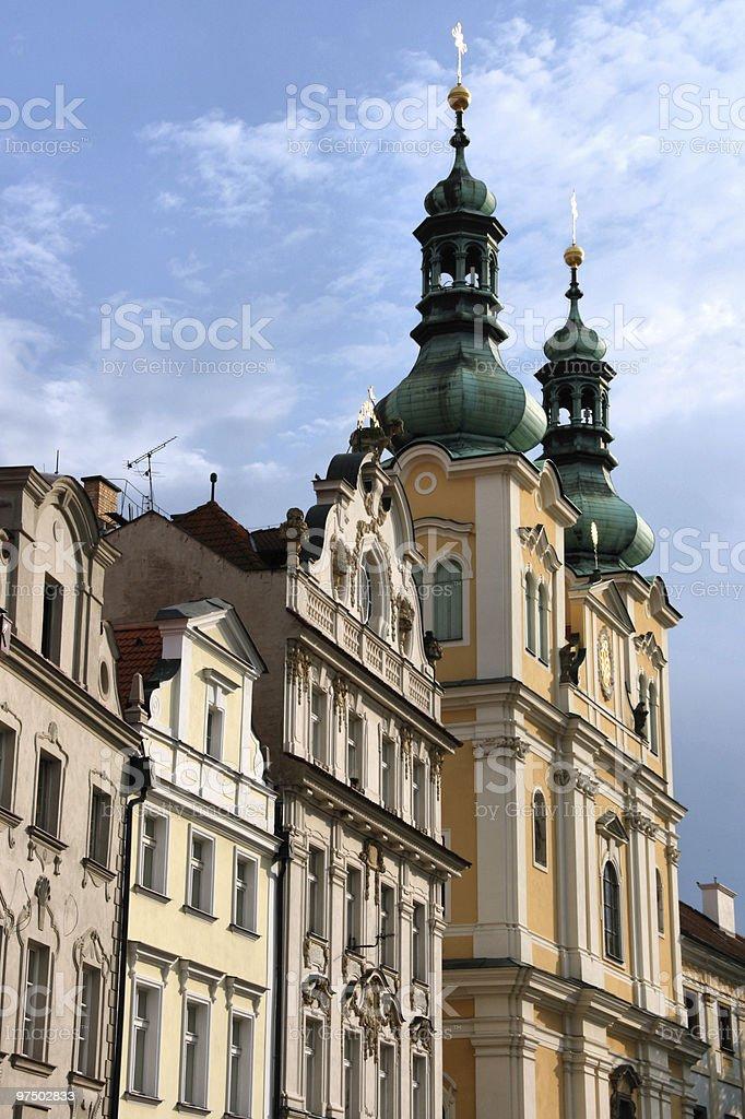 Hradec Kralove royalty-free stock photo