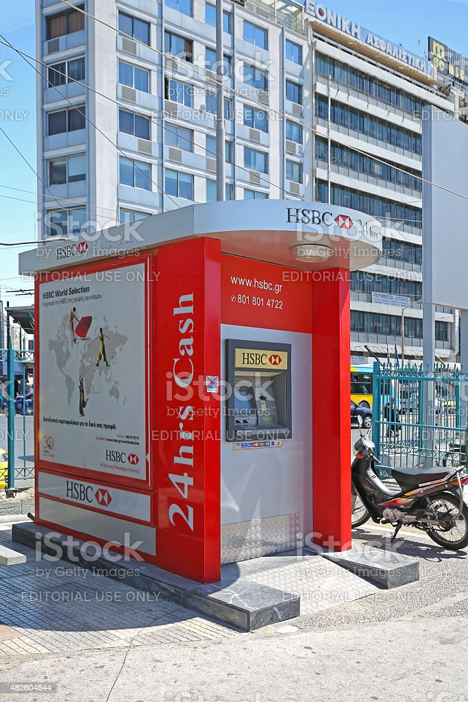 Hsbc Atm Stock Photo - Download Image Now