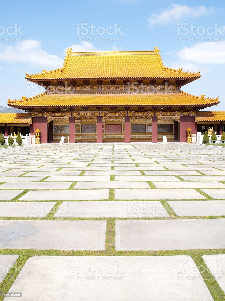 Hsi Lai Temple royalty-free stock photo