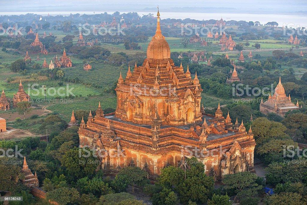 Htilominlo Temple, Bagan, Myanmar. royalty-free stock photo