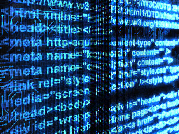 código html - website design fotografías e imágenes de stock