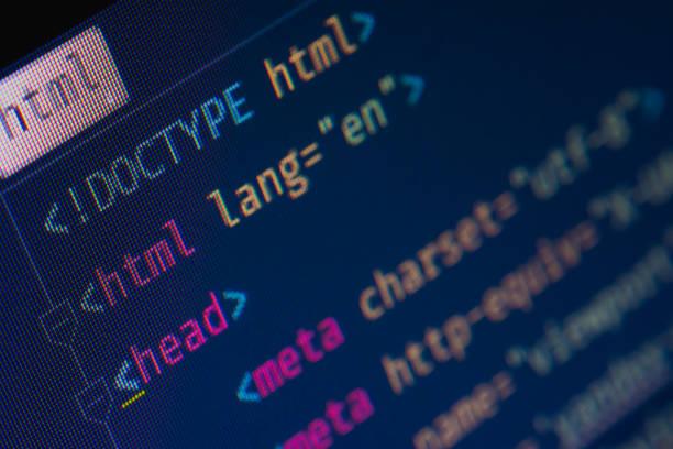 html-header markup - html stock-fotos und bilder