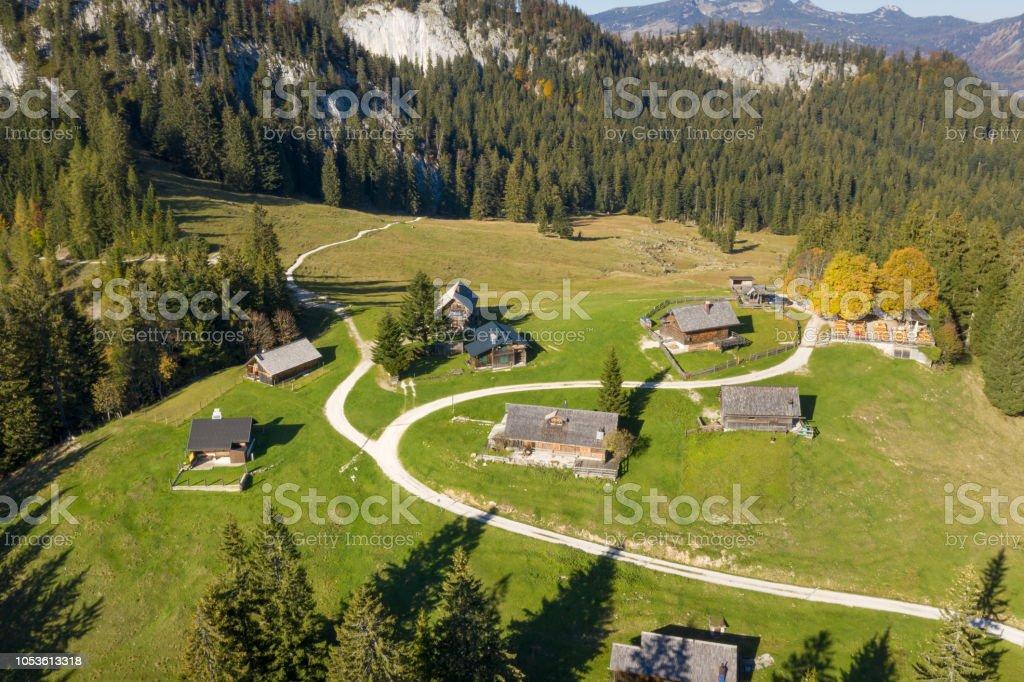 Hütteneckalm, Bad Goisern am Hallstättersee, Österreich – Foto