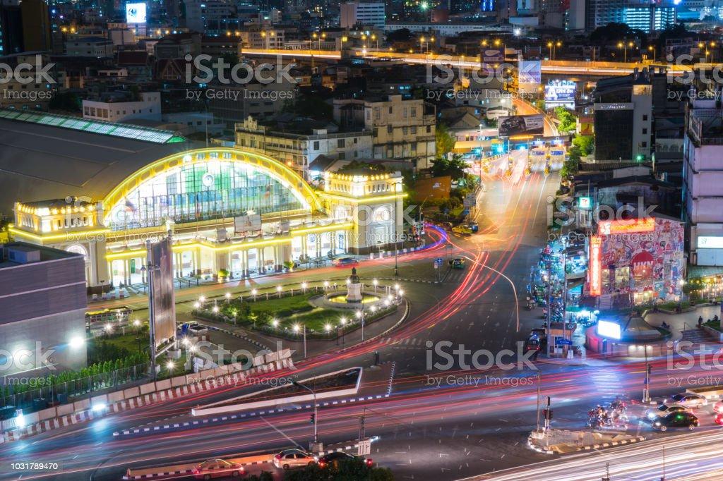 Bahnhof Hua Lamphong In Bangkok – Foto
