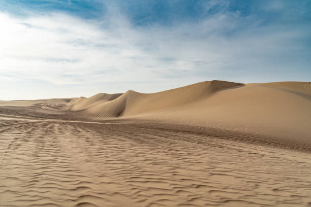 Huacachina Sand Dunes stock photo
