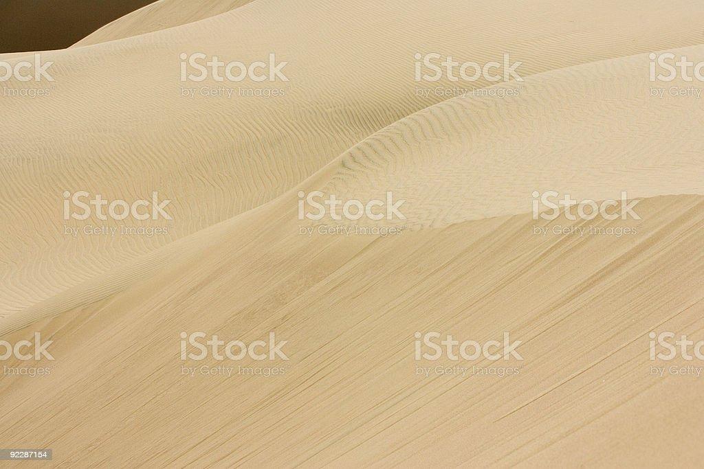 Huacancina Oasis in Peru royalty-free stock photo