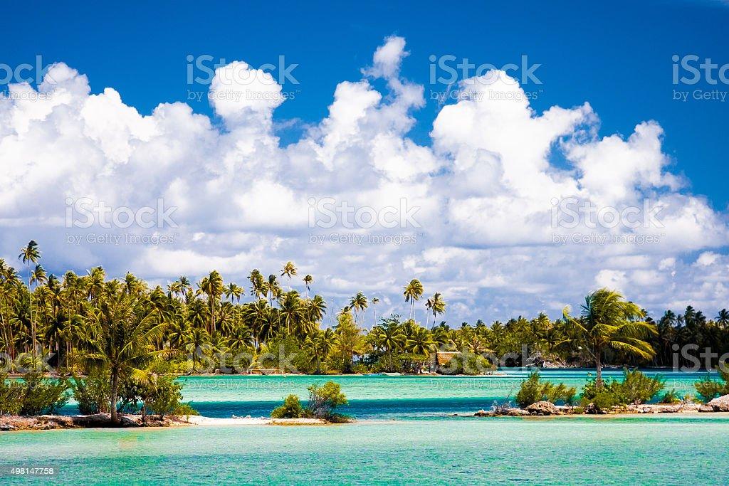 Insel Huahine in Polynesien – Foto
