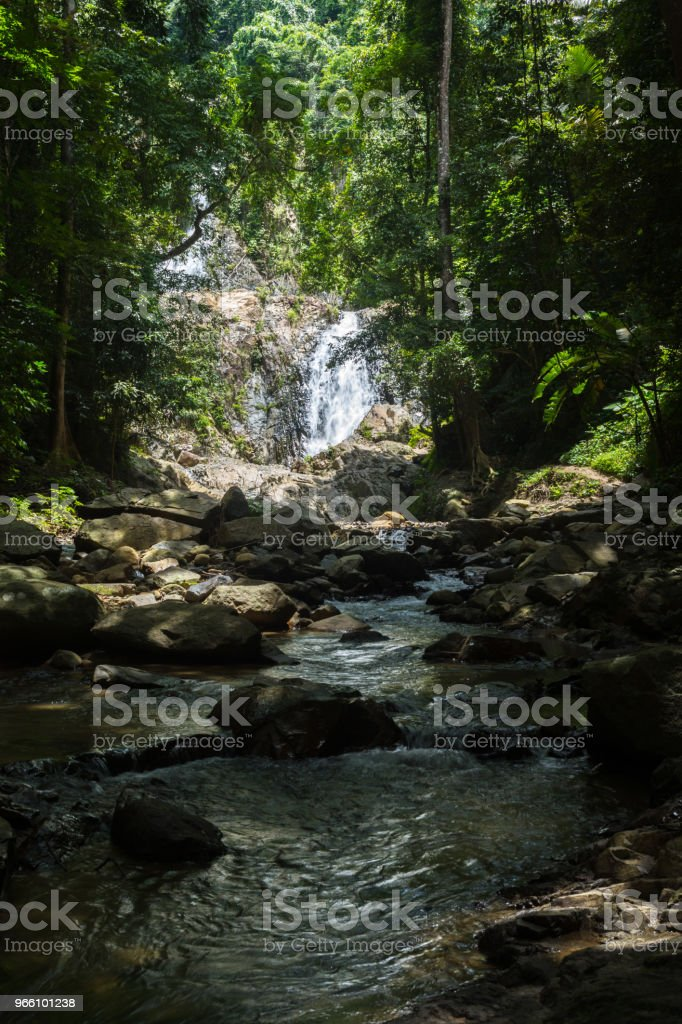 Huai To Waterfall - Royalty-free Activity Stock Photo
