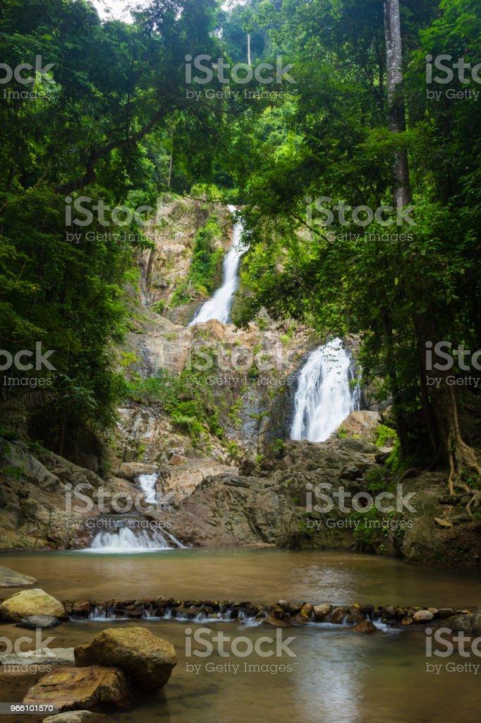Huai till vattenfall - Royaltyfri Aktivitet Bildbanksbilder