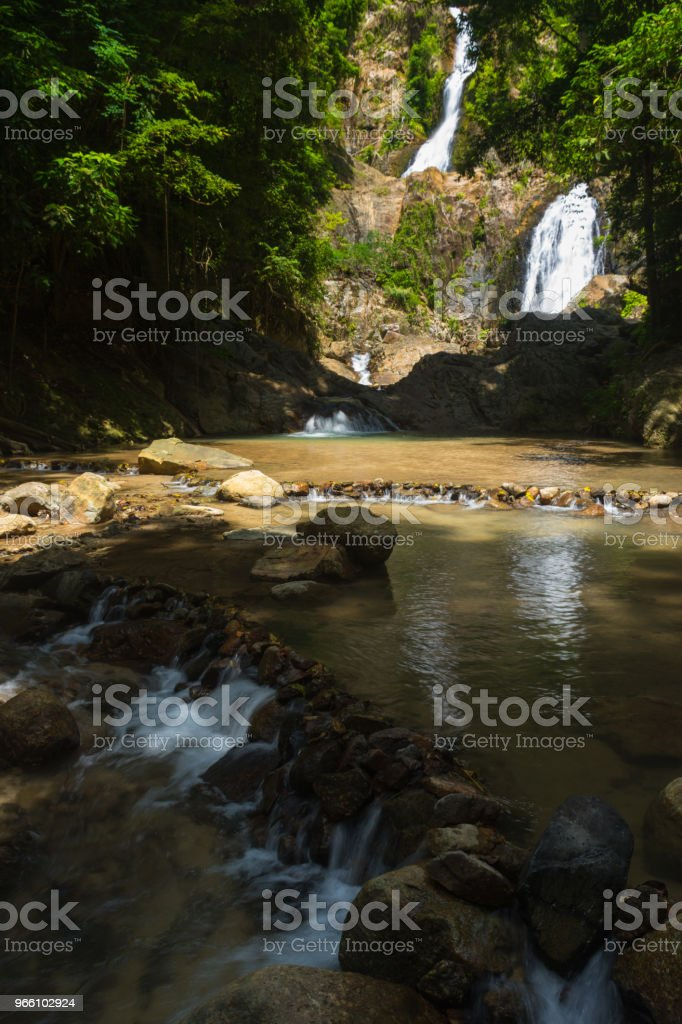 Huai To Waterfall - Royalty-free Activity Stock Photo